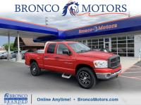 Red 2007 Dodge Ram 1500 SLT 4WD 5-Speed Automatic