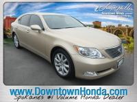 Gold 2007 Lexus LS 460 RWD 8-Speed Automatic with