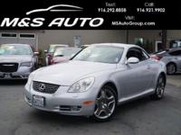 Beautiful in fit, finish, and design, our 2007 Lexus SC