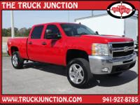 LT CREW CAB DURAMAX DIESEL 4X4 WITH LEATHER 20 INCH