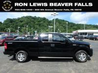Black Clearcoat 2008 Ford F-150 XLT RWD 4-Speed