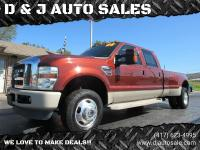 2008 Ford F350 Super Duty Crew Cab Lariat Dually, King