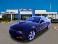 Black 2008 Ford Mustang GT Deluxe RWD 5-Speed 4.6L V8