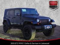 New Price! Black 2008 Jeep Wrangler Unlimited Sahara