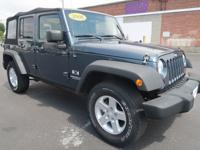 This One Owner Clean CarFax 2008 JEEP WRANGLER JK