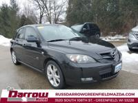 2008 Mazda Mazda3 s Grand Touring Recent Arrival! Black