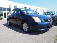 2008 Nissan Sentra 2.0 S CVT with Xtronic, Cloth. 25/33
