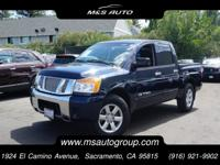 Our 2008 Nissan Titan SE Crew Cab 4X2 is displayed in