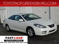 White Pearl 2008 Toyota Camry Solara SE FWD 5-Speed