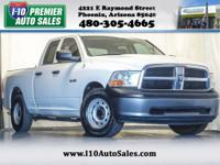 CARFAX One-Owner. Clean CARFAX. Stone White 2009 Dodge