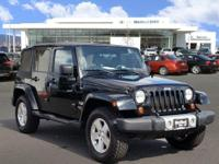 JUST REPRICED FROM $22,991. Sahara trim. 4x4, Alloy
