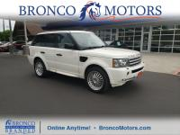 White 2009 Land Rover Range Rover Sport Supercharged