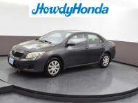2009 Toyota Corolla LE Magnetic Gray Metallic G Clean