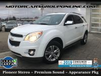 This Chevrolet Equinox has a strong Gas I4 ECOTEC
