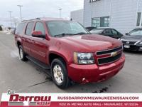 2010 Chevrolet Suburban 1500 LT LT1 Red Jewel 4WD