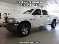 Just In!! 2010 Dodge Ram 2500 Crew Cab 4WD with the