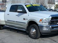 White 2010 Dodge Ram 3500 Laramie 4WD 6-Speed Cummins