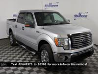 Ingot Silver 2010 Ford F-150 XLT 4WD 6-Speed Automatic