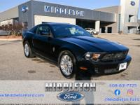 Clean CARFAX. Black **LOCAL TRADE**, **NON-SMOKER**,
