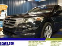 Clean CARFAX. 2010 Honda Accord Crosstour EX-L Alloy