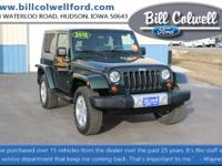 Natural Green PC/Black Hard Top 2010 Jeep Wrangler