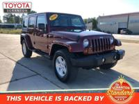 2010 Jeep Wrangler Unlimited Sahara ***#1 CERTIFIED