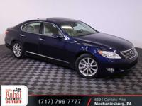 Blue 2010 Lexus LS 460 AWD 8-Speed Automatic with