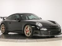2010 911 GT3 in Basalt black with black full