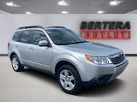 2010 Subaru Forester Spark Silver Metallic Limited Rear