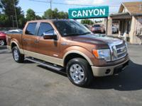2011 Ford F-150 SuperCrew Lariat 4X4 OFF-ROAD EcoBoost