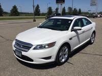Local Trade! White Suede 2011 Ford Taurus SEL FWD