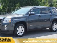 Cyber Gray Metallic 2011 GMC Terrain SLE-1 FWD 6-Speed