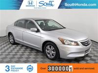 2011 Honda Accord SE 2.4 Silver Odometer is 12609 miles
