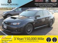 AN EXCITING ALL WHEEL DRIVE SPORTS SEDAN WITH SUBARU