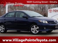 Blue (Nautical Blue Metallic) 2011 Toyota Corolla S FWD