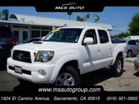 Our great looking One Owner 2011 Toyota Tacoma Crew Cab
