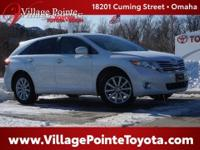 White (Blizzard Pearl) 2011 Toyota Venza FWD 6-Speed