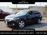 Our sleek and hard to find 2012 Acura TSX Sport Wagon