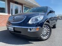 Blue 2012 Buick Enclave Leather Group AWD 6-Speed