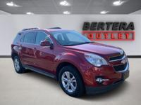 2012 Chevrolet Equinox Crystal Red Tintcoat LT 2LT Rear