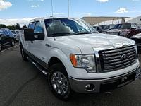 2012 Ford F-150 XLT Oxford White 4WD EcoBoost 3.5L V6