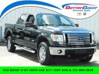 ** CREW CAB ECO BOOST V-6 TURBOCHARGED** XLT CHROME &