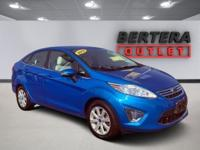 2012 Ford Fiesta Blue Candy Metallic Tinted Clearcoat
