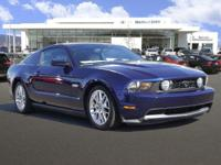 GREAT MILES 58,986! Kona Blue Metallic exterior, GT