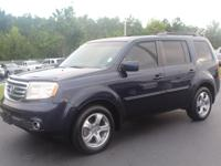 Blue Metallic 2012 Honda Pilot EX-L 4WD 5-Speed
