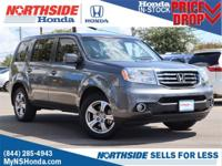 CARFAX One-Owner. Clean CARFAX. Gray 2012 Honda Pilot