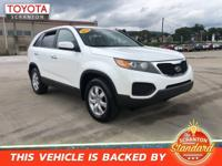 2012 Kia Sorento LX ***#1 CERTIFIED TOYOTA DEALER IN