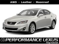 AWD, Leather, Moonroof, Cooled Seats, SiriusXM, Premium