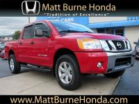 This 2012 Nissan Titan SV is a local trade with one