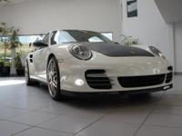 Stunning 2012 Pure white Porsche 911 Turbo S coupe with